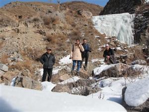 张家川在线走进冬日石峡水库拍摄花絮
