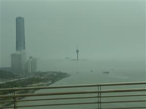 雾锁横琴湾