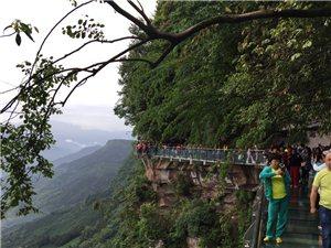 玉屏山森林公园一日游,眺远山,走玻璃栈道!
