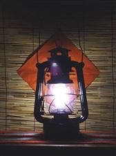 黑夜里的那盏灯!