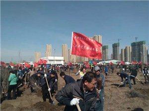 """齐齐哈尔市市直机关开展""""绿化美丽家园建设生态鹤城""""志愿服务活动"""