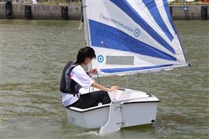 备战澳门国际小帆船比赛