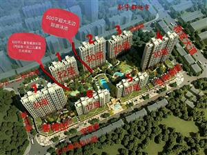 望阳中央公园公寓、门面、别墅已经启动