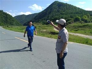 张家川在线受县发改局邀请委托拍摄大美张家川摄影�风活动