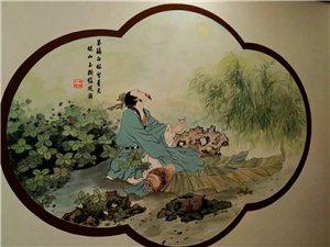 手绘墙绘画美术欣赏