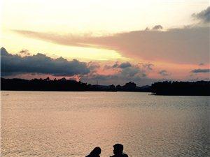 傍晚的美景