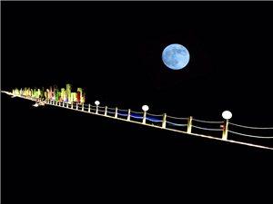 夜晚的御景湾