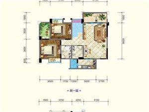 清水房,新楼盘现房,步行十分钟直达广汉老城区,半小时就能到达成都