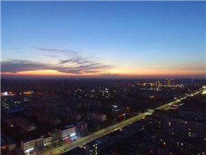 博城夜景美美滴