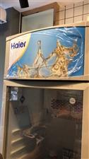 海尔sc-340立体展示冷柜,全新未插电使用转让