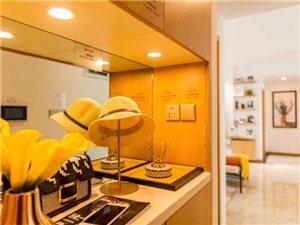 富顺中顺装饰大白墙、不吊顶,3居新房简单装一下,真漂亮!