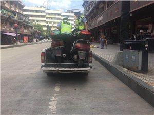 交警大队:加大整治力度整治交通秩序