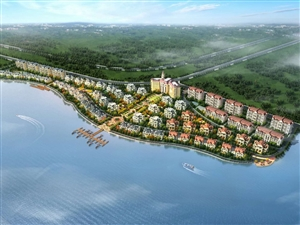 金地湖畔,城市精英的居住首选