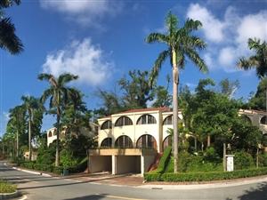 好天气,在珠海度假村酒店园区散步一下,上班咯!