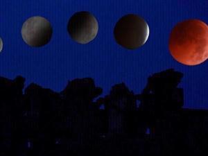 7月28日凌晨,月全蚀