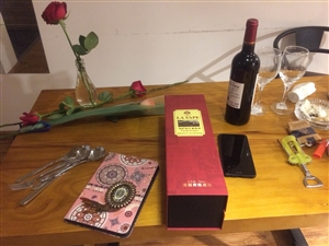 红酒配玫瑰~