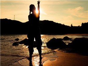 晚安!不对,早安啊!下川岛的日落!沿海一路向东拍摄婚纱,沿途美景多多,拍不过来。日落之前赶不上