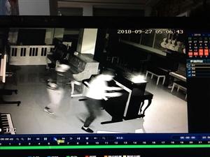 """9月27日凌晨五点,几个小毛贼在张家川一家琴行""""弹起了高八度"""""""