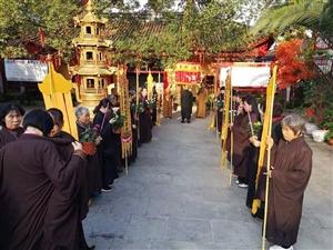市佛教协会,来香山寺举办弘法大会,大会圆满!