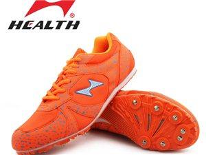 正品海尔斯钉鞋出手,未使用一次的全新钉鞋。如图,41码的橙色海尔斯钉鞋,送钉子,送起钉器,并附送收纳...
