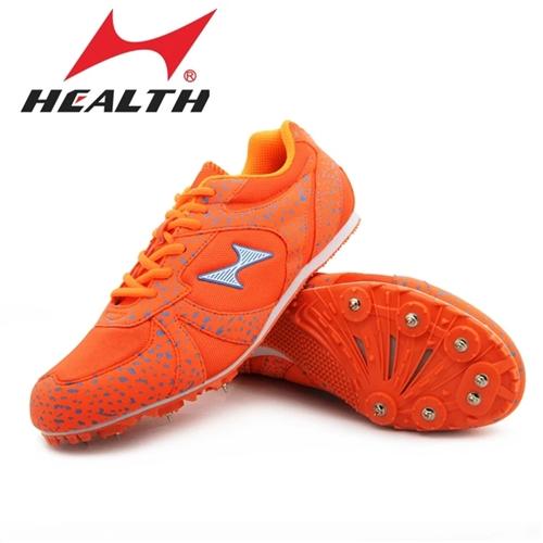 正品海爾斯釘鞋出手,未使用一次的全新釘鞋。如圖,41碼的橙色海爾斯釘鞋,送釘子,送起釘器,并附送收納...