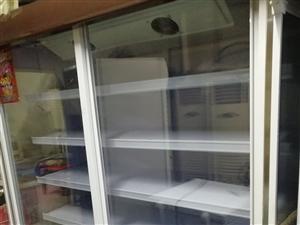 9成新无霜铜管冷藏冷冻陈列柜