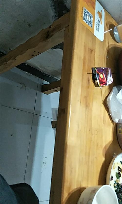 求購二手高桌子。長板凳