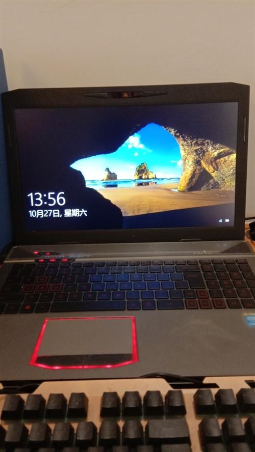 火影笔记本电脑,游戏本!i7处理器,超大内存,用了半年,买了6000多,现有急事,需处理掉