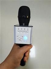 全新Q9K歌蓝牙麦克风,因闲置转手,保证无质量问题,可用于K歌、听歌,也可播放U盘。具体功能淘宝搜。