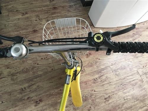 可以折叠带变速自行车 折叠完可以放入汽车后备厢 因为家里放着没用。所以想要买掉 加送打气筒