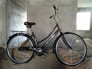全新26寸自行车一辆,八所当面交易。送货上门