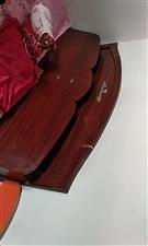 1.5米床和床�|。 因�o�放置�理。