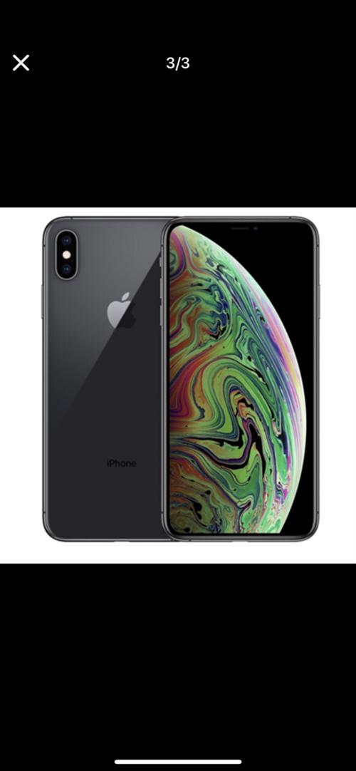 苹果XsMax黑色64G,专卖店刚买十几天,想要的来。