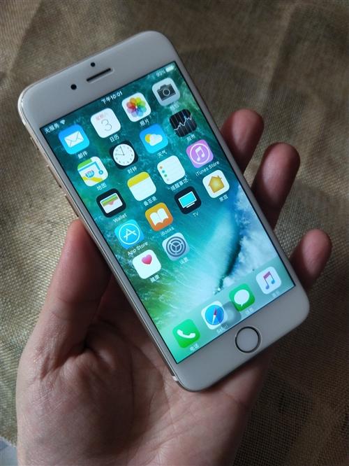 土豪金64G蘋果iPhone6聯通電信4G,成色如圖,9新左右,64G,聯通電信4G,移動2G!無任...