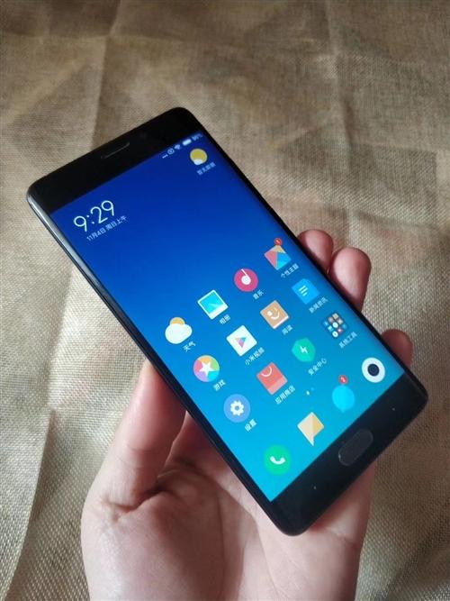 雙曲面黑色小米Note2全網通4+64,長期批發各品牌二手機招全國各地代理,質量保證,...