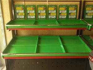 99成新双层蔬菜水果货架,低价转让,长1.8米X3个联系电话,15334095819