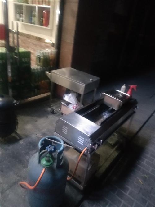 烤肉气炉子加一个调料车出售,价格优惠