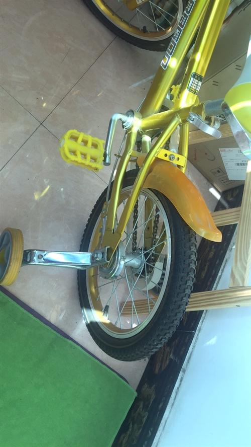 兒童自行車。幾乎全新,買回來連兩次都沒有騎。輪胎還是新的。480元買的,放在家中閑置150元帶走。