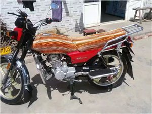 豪爵摩托车跑了1万多公里八成新