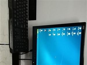 台式电脑一套,低价处理,只要600元
