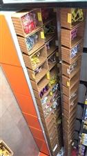 零食货架,实木货架,框子是藤的,豪华组合。像图2这样是2组货架,每组货架60cm,共计13组,中间2...