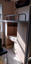 床铺?一体书柜衣柜