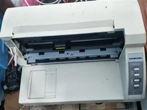闲置得实AR500针式打印机,机器完好,近期换新色带,个人闲置给有需要的人。可打印A4文档及各种票据...