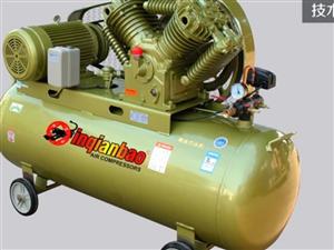 二手噴漆或木工用空氣壓縮機兩臺,220V2300w電機,0.25流量。上滿氣只要45秒。打包1000...