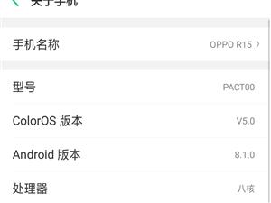 出售OPPO手机R15用了2个月。价格1000+