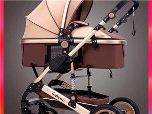 婴儿车,这是我家宝宝去年刚出生的时候买的,当时新款花了将近500  总共就用过3次,  九成新就再也...
