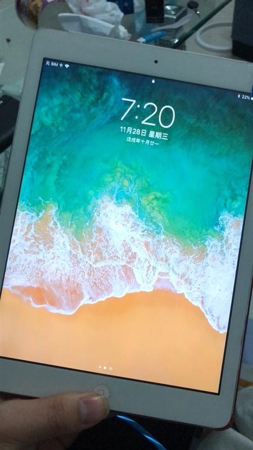 苹果ipadair 9.7寸 1年多 买的时候3千 现在1200 急用钱 有意的联系