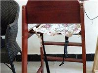 出售9成新宝宝椅,一张全实木很结实,一张两用的也是实木,孩子大一点还可以当书桌用, 要的速度,20...