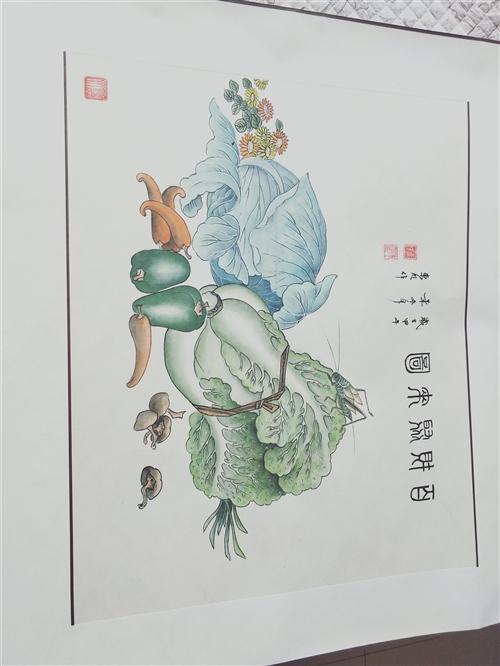 国家一级美术师 姜喜全先生的作品,有喜欢的致电.可查真假.