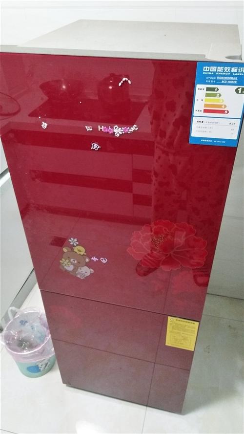 家用闲置九成新中型冰箱一台低价出手。  三年前买的,原价2480,现1200低价出手。 嘉酒地...